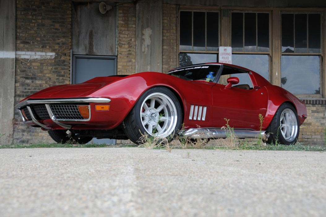 1968 1972 CORVETTE FLARED FENDERS FACTORY WHEEL EDGE
