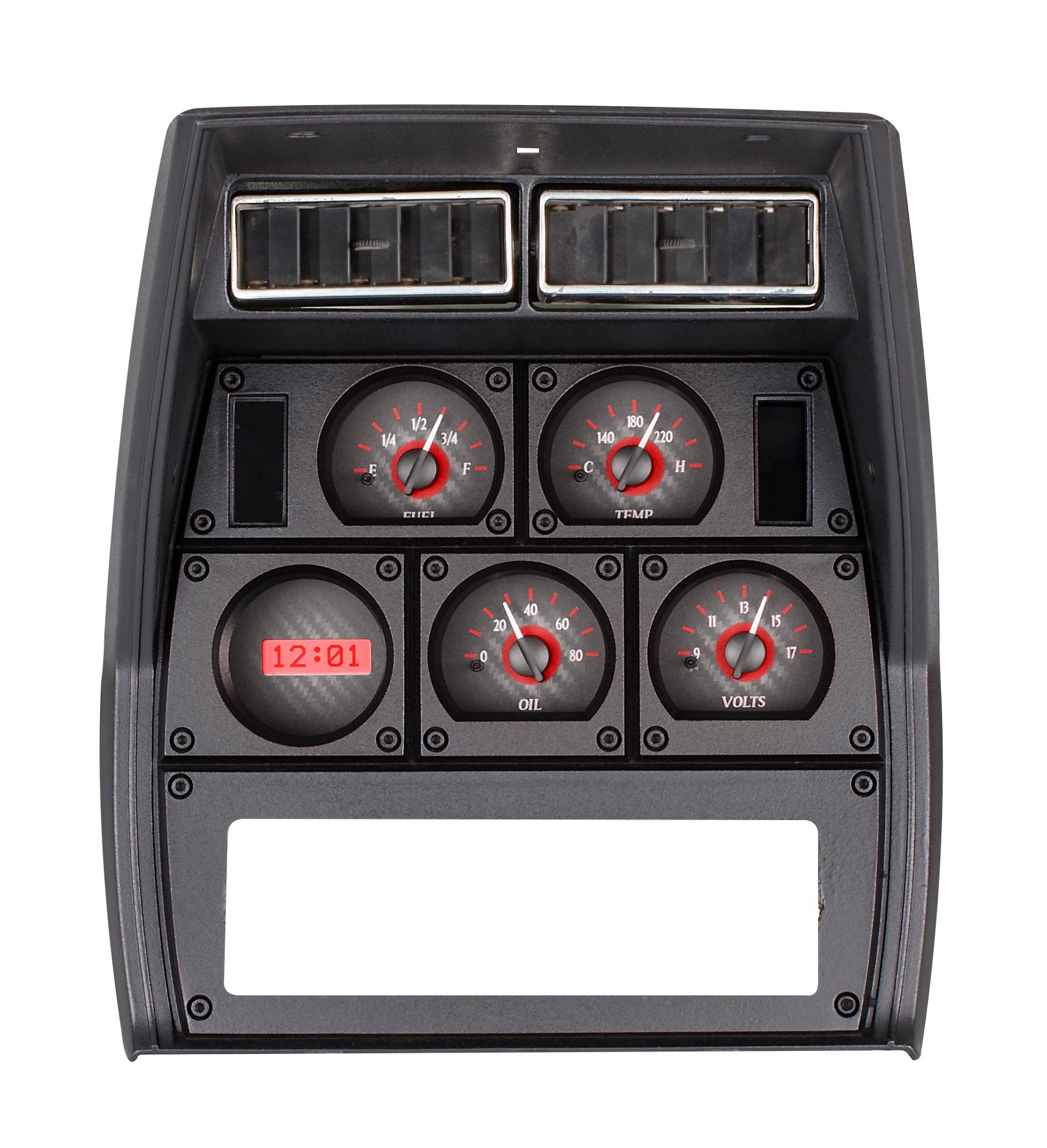 1982 Corvette Gauges : Corvette dakota digital vhx gauges custom
