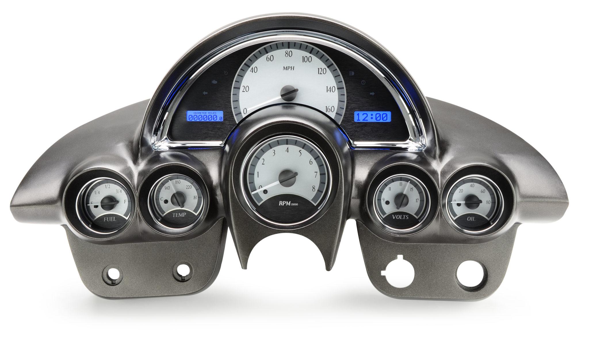 Custom Digital Gauges : Corvette dakota digital vhx gauges custom