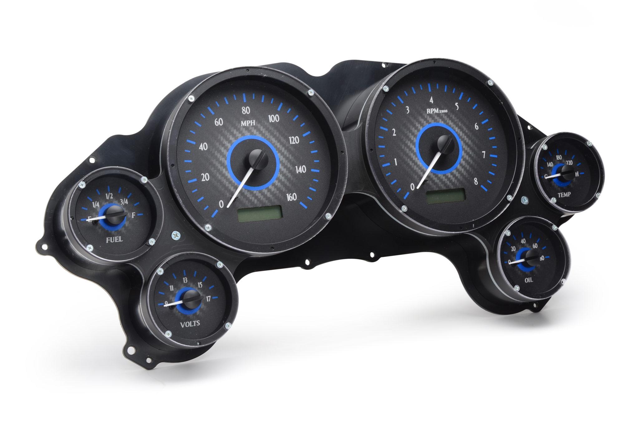 Custom Digital Gauges : To corvette projects autos post