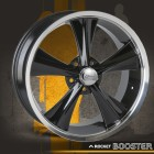 MODERN MUSCLE WHEELS BLACK BOOSTER