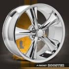 MODERN MUSCLE WHEELS CHROME BOOSTER