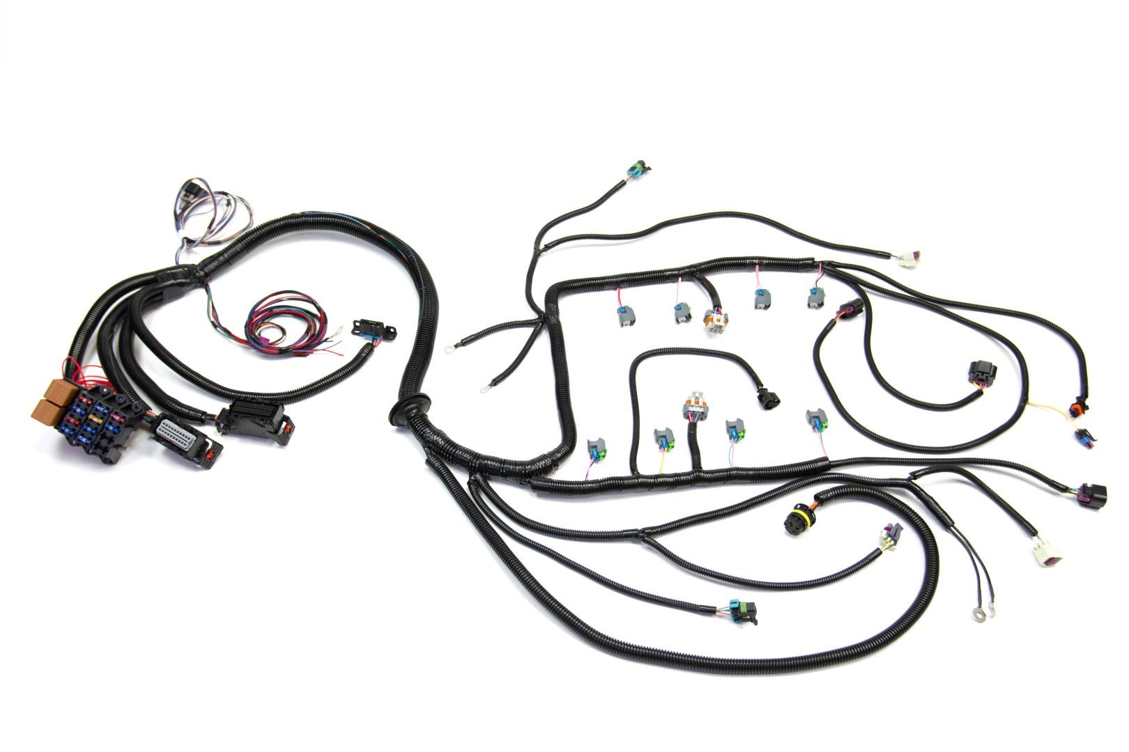 '08 – '13 ls3 (6 2l) standalone wiring harness w/6l80e