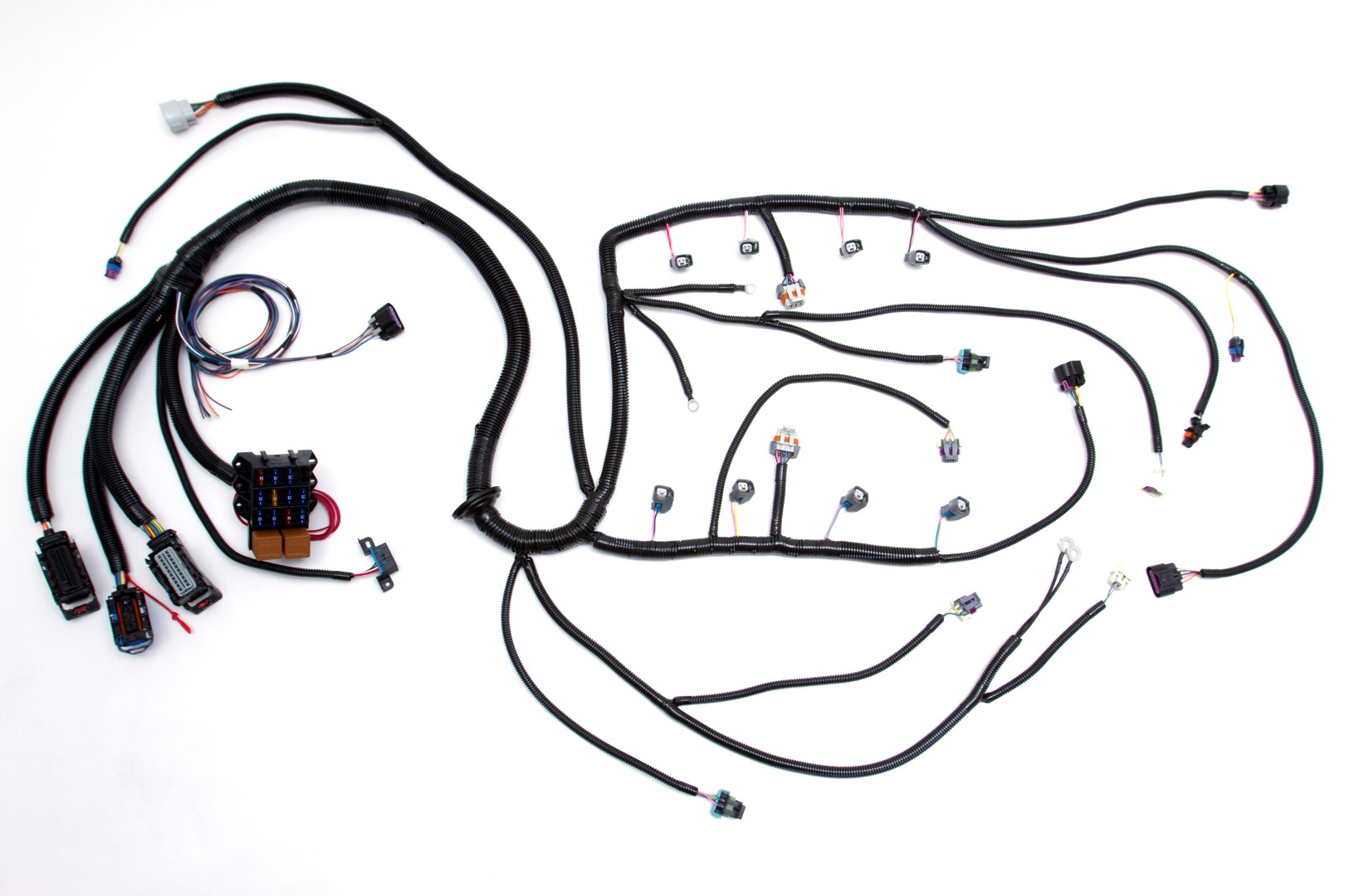 6B12569D615C960145AAE779D1051500 05 '07 ls2 (6 0l) 58x standalone wiring harness w 4l60e custom TH400 Wiring Harness Diagram at panicattacktreatment.co