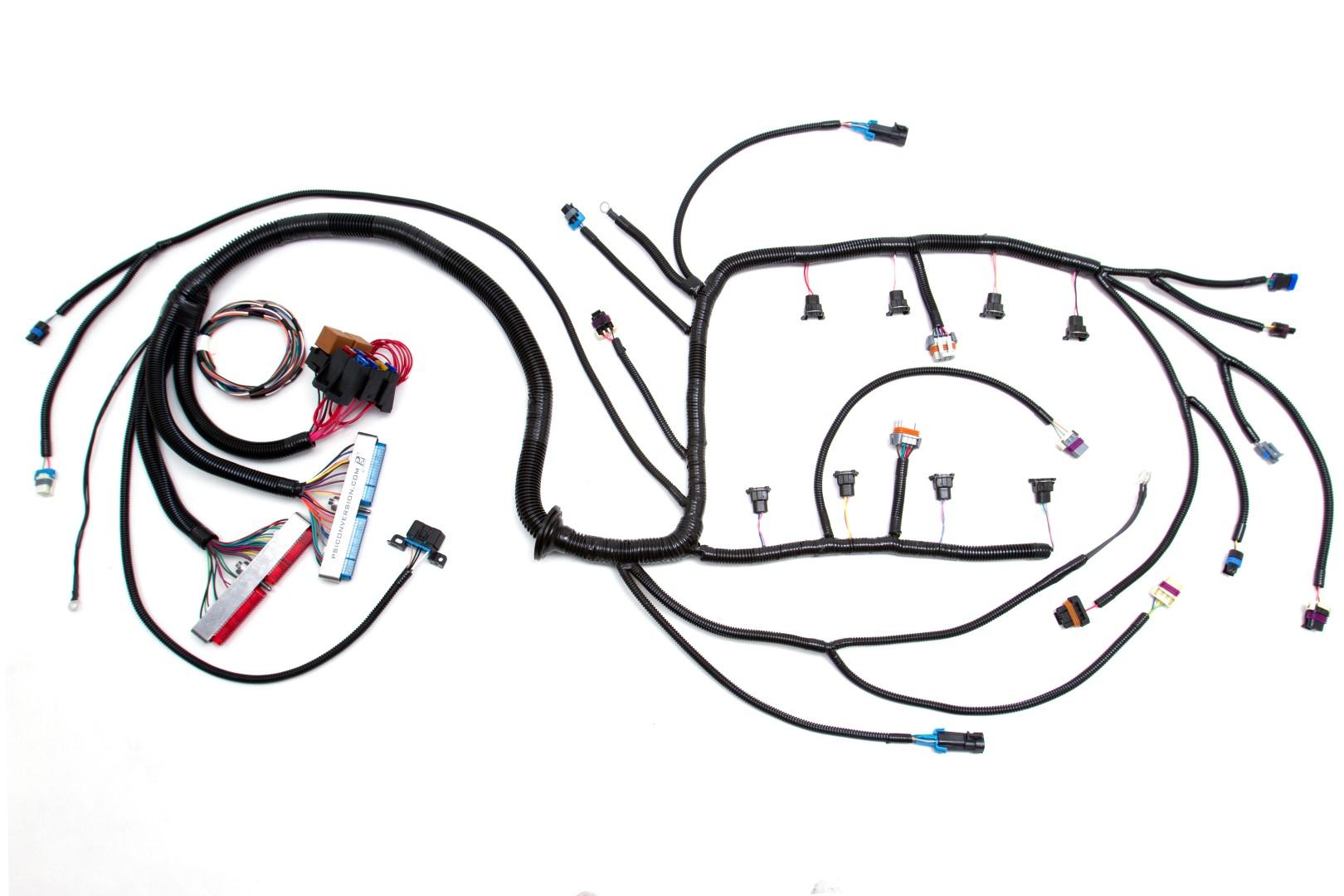 u0026 39 97  u0026 39 02 ls1 w  t56 standalone wiring harness  dbc