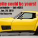 17 Days Till the RideTech 48Hr Corvette Hits The Block At Barrett Jackson