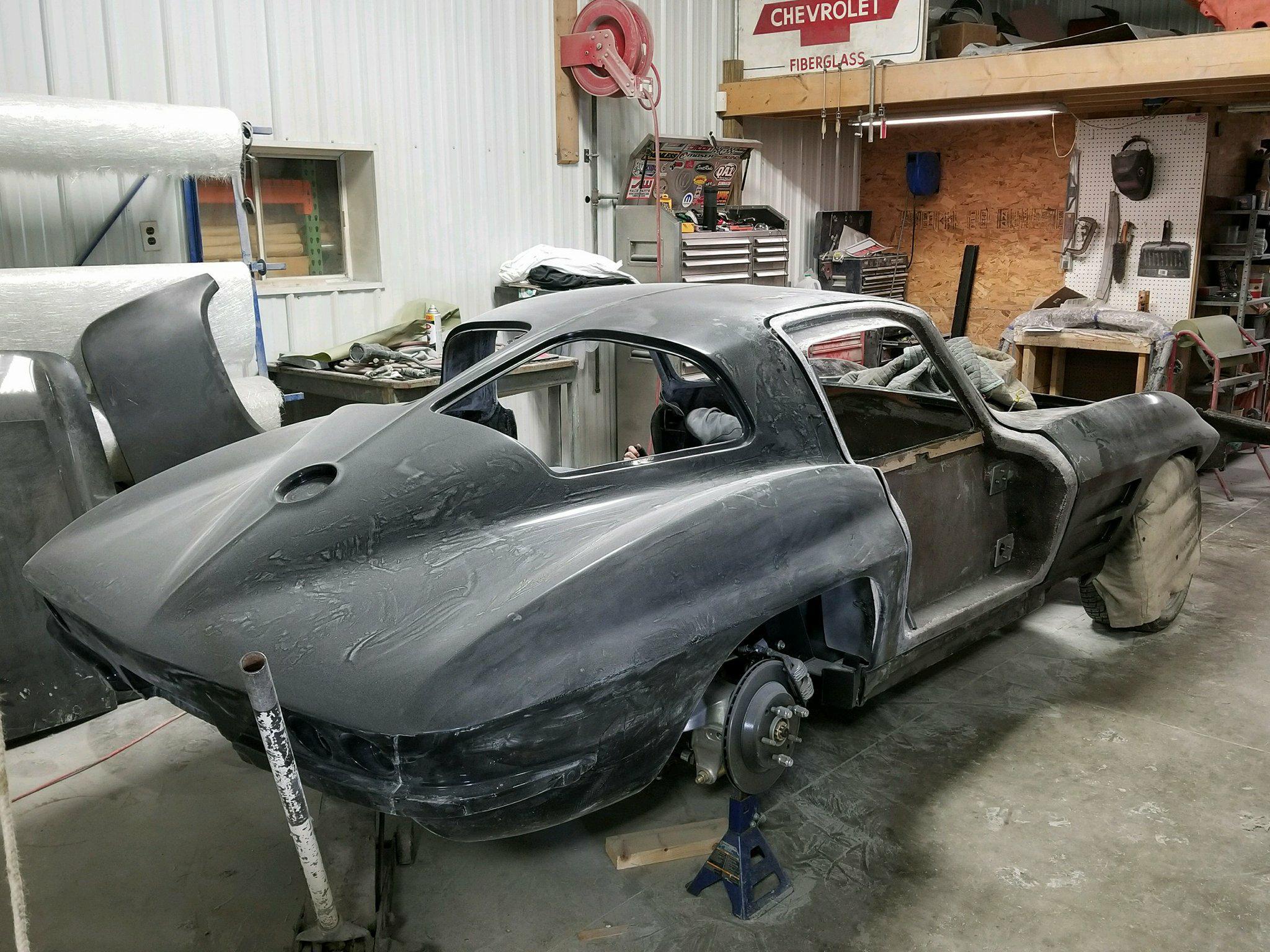 1963 1967 Corvette Replica Coupe Custom Image Corvettes
