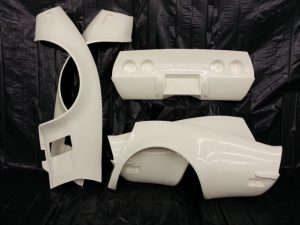 Custom Image Corvettes Fiberglass